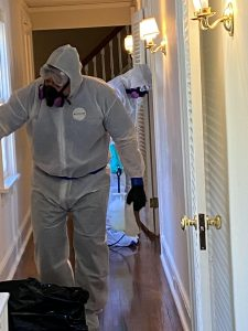 ServiceMaster Superior Cleaning Technicians Biohazard