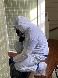 ServiceMaster Superior Technician Biohazard cleaning in home